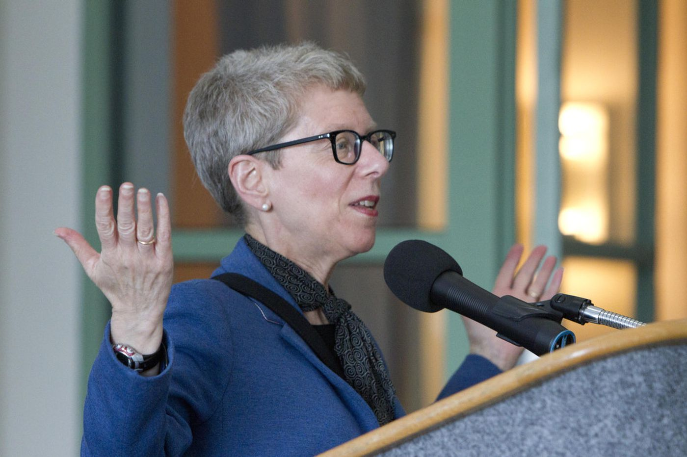 Impeachment coverage bumps Terry Gross' episode of PBS' 'Finding Your Roots'