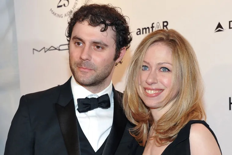 Chelsea Clinton just announced she and husband Marc Mezvinsky are expecting their first baby, due later this year.