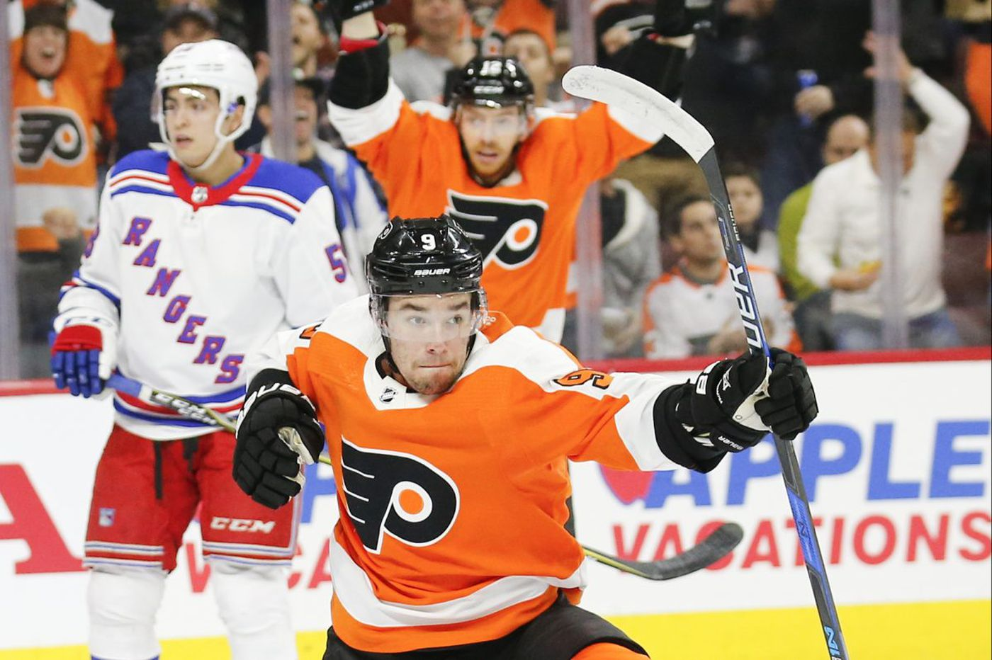 Flyers' Ivan Provorov sleepless from excitement, not the Penguins