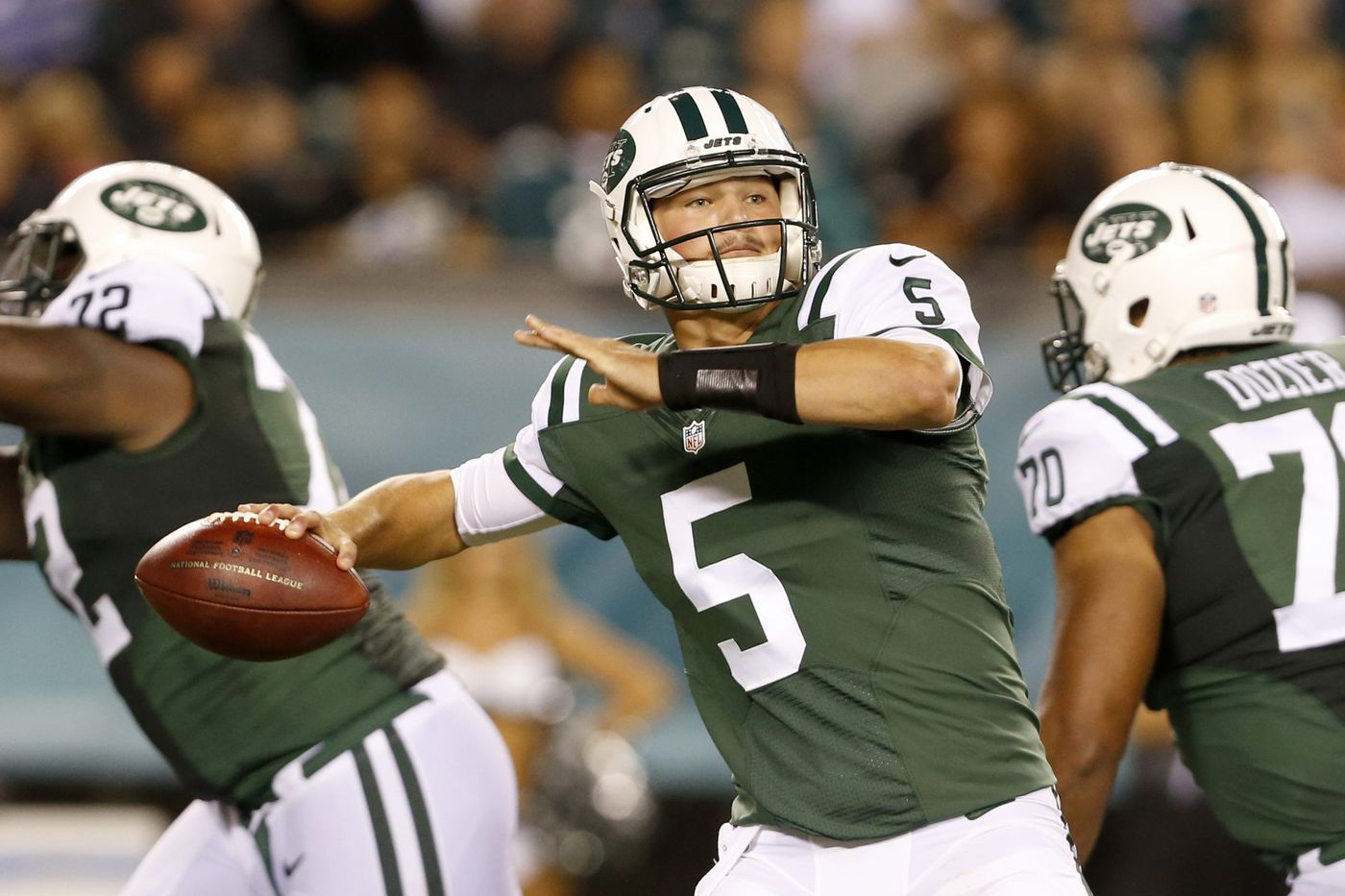 Christian Hackenberg, former Penn State quarterback, signs with Eagles