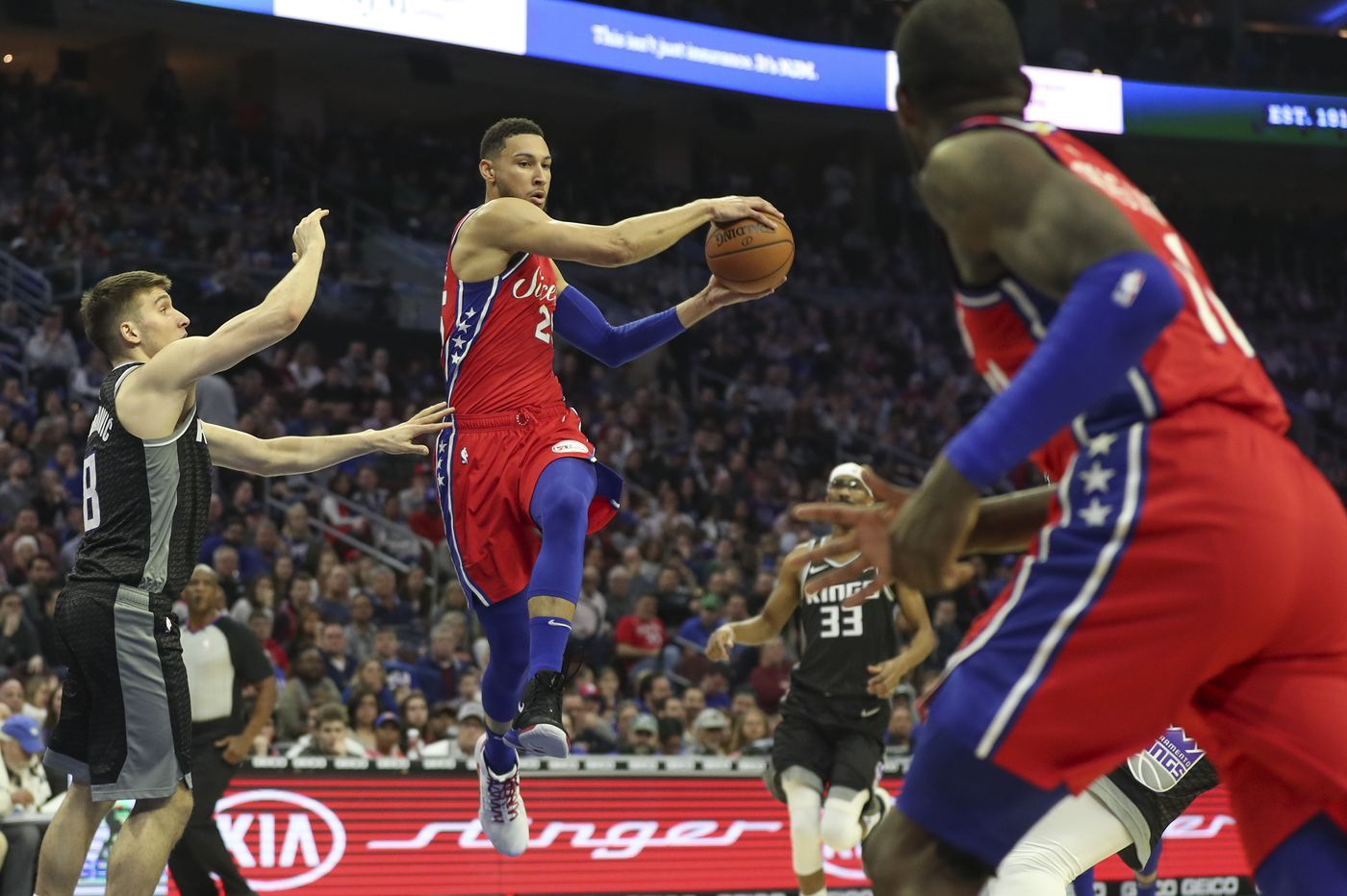 Ben Simmons to miss game against Magic with stomach virus