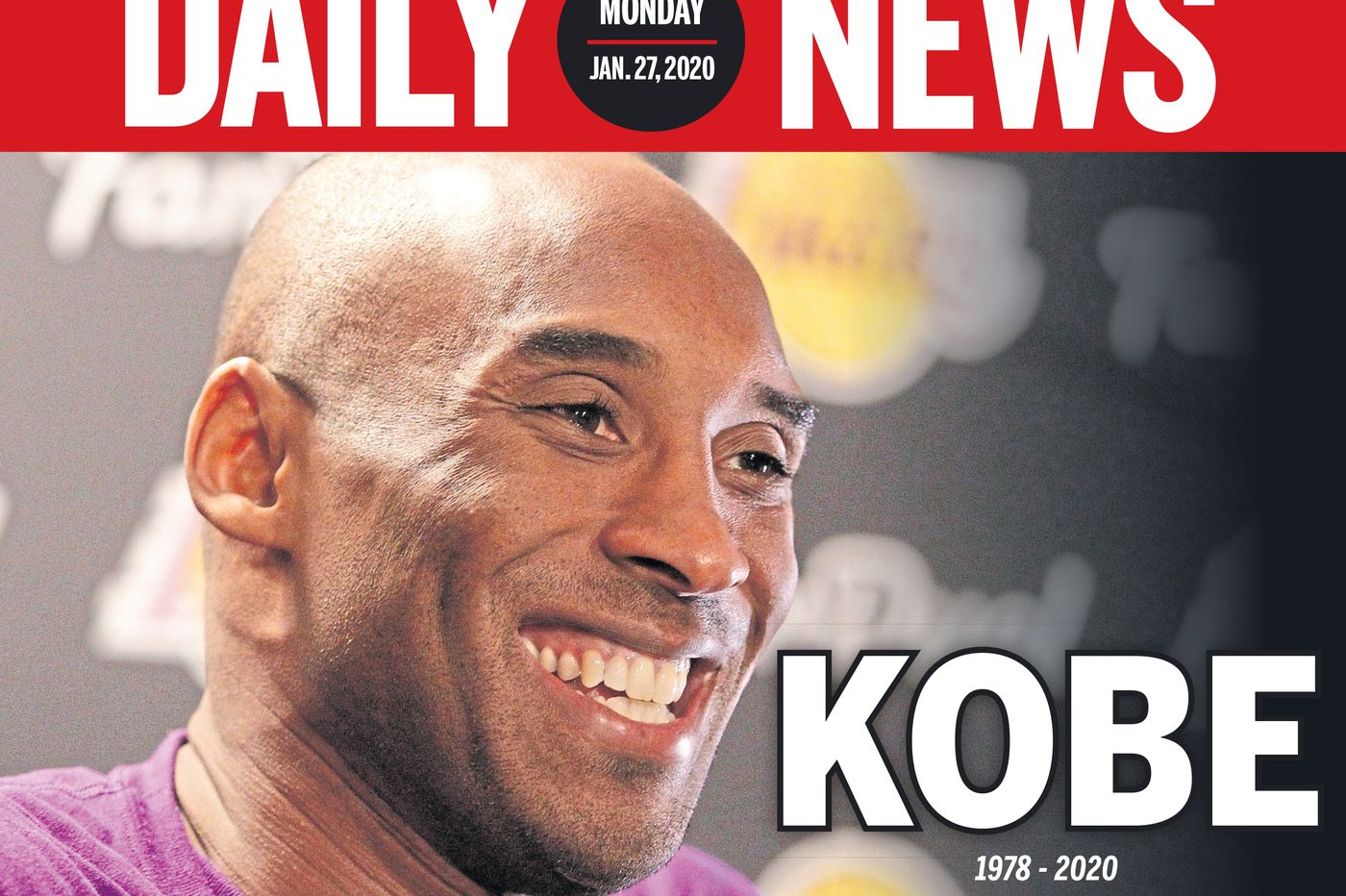 Kobe Bryant remembered on newspaper front pages