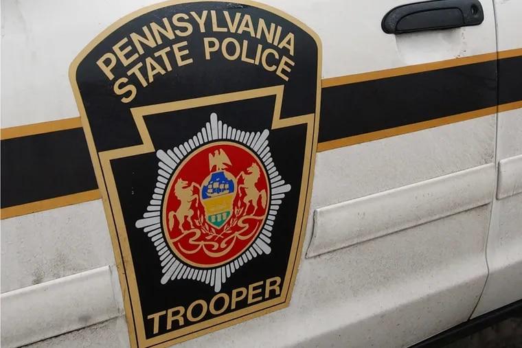 Pennsylvania State Police patrol car.
