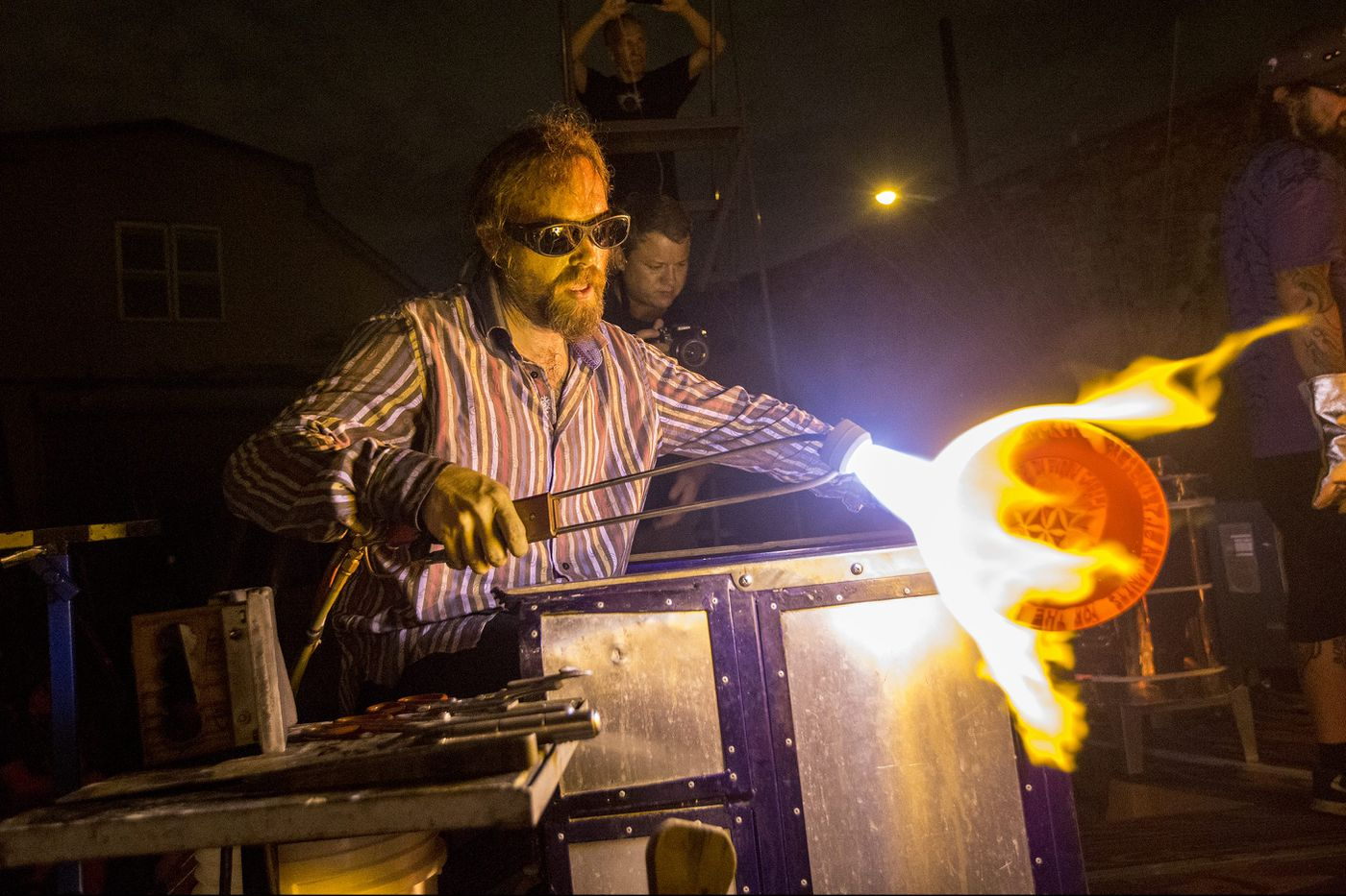 A famous glassmaker came to Philly to create his own form of currency