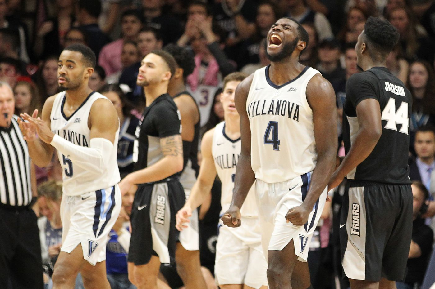 Eric Paschall sparks second-half surge, leads Villanova to 85-67 win over Providence