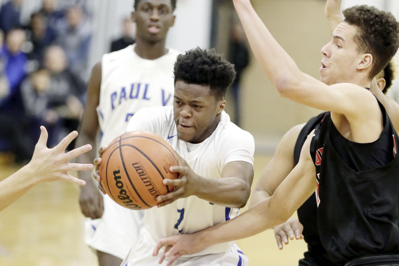 Wisler Sanon powers Paul VI basketball past Haddonfield with 20 points