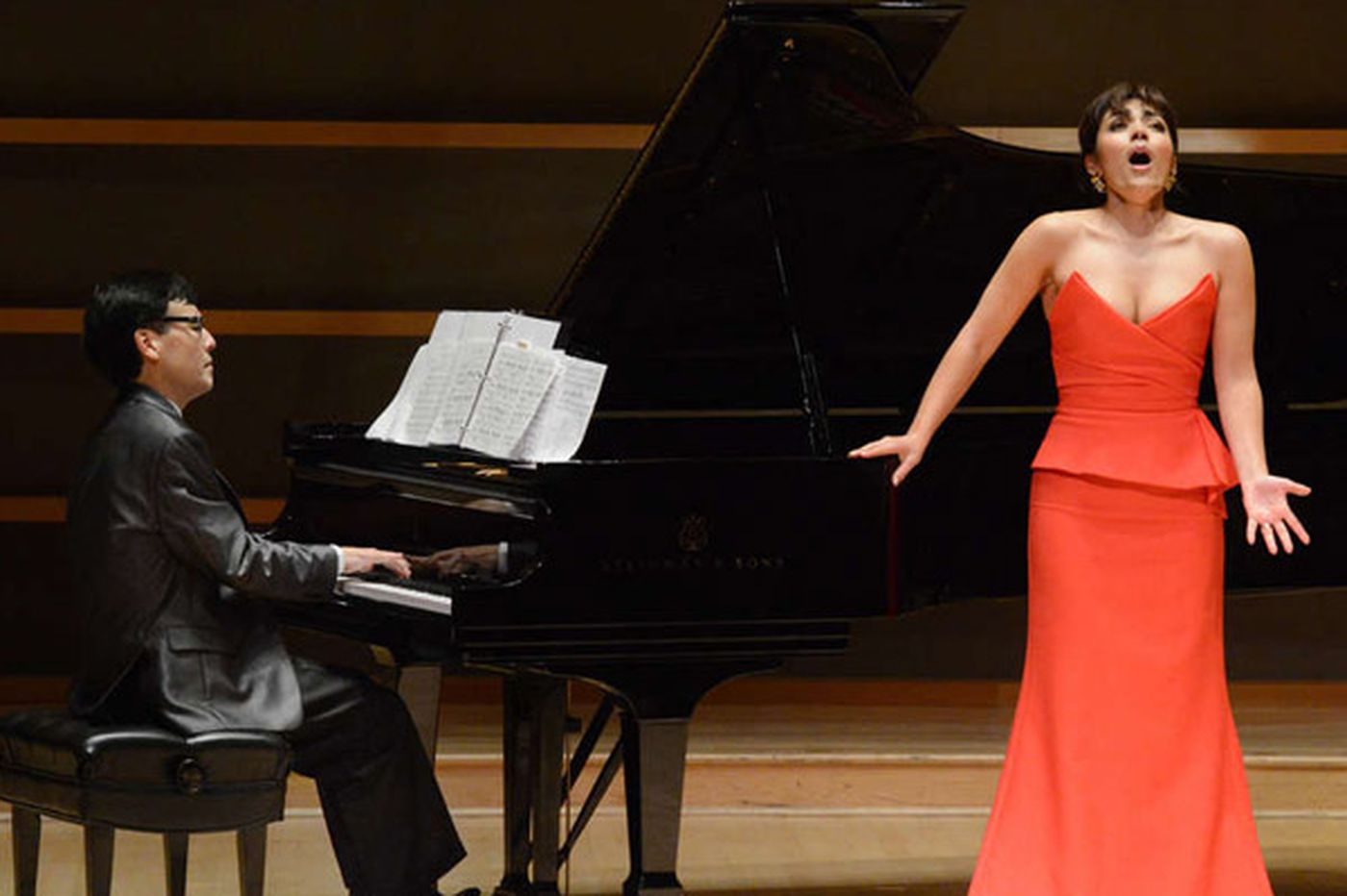 A soprano's tale of two halves