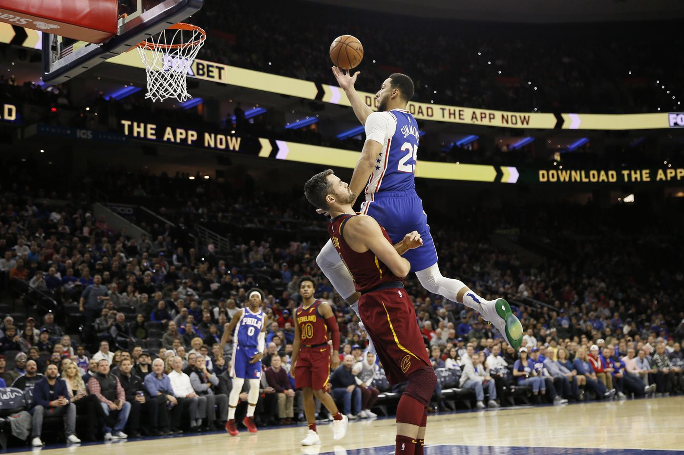 Ben Simmons still isn't shooting from deep, but Sixers remain patient