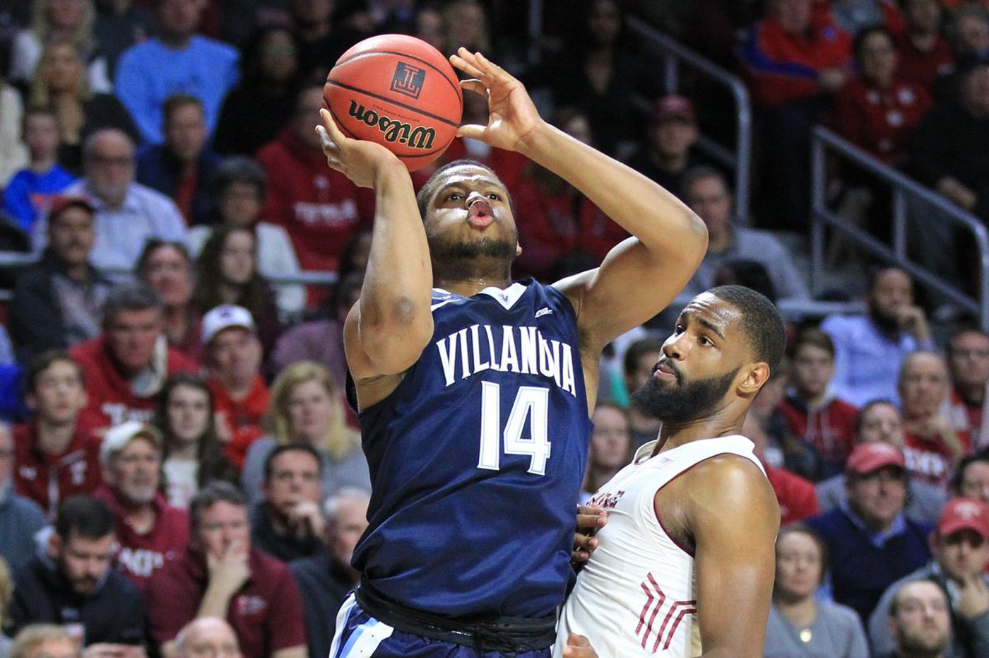 Omari Spellman's shooting for Villanova can't be ignored