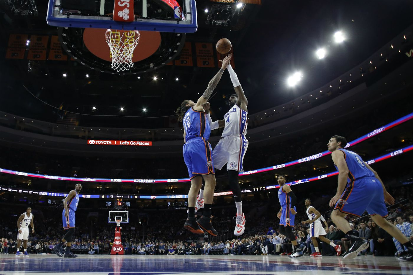 Thunder's Donovan has his own challenges