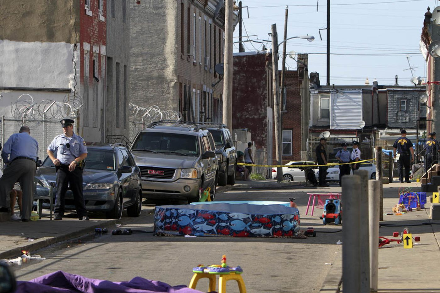 Shootings and bloodshed on Father's Day in North Philly