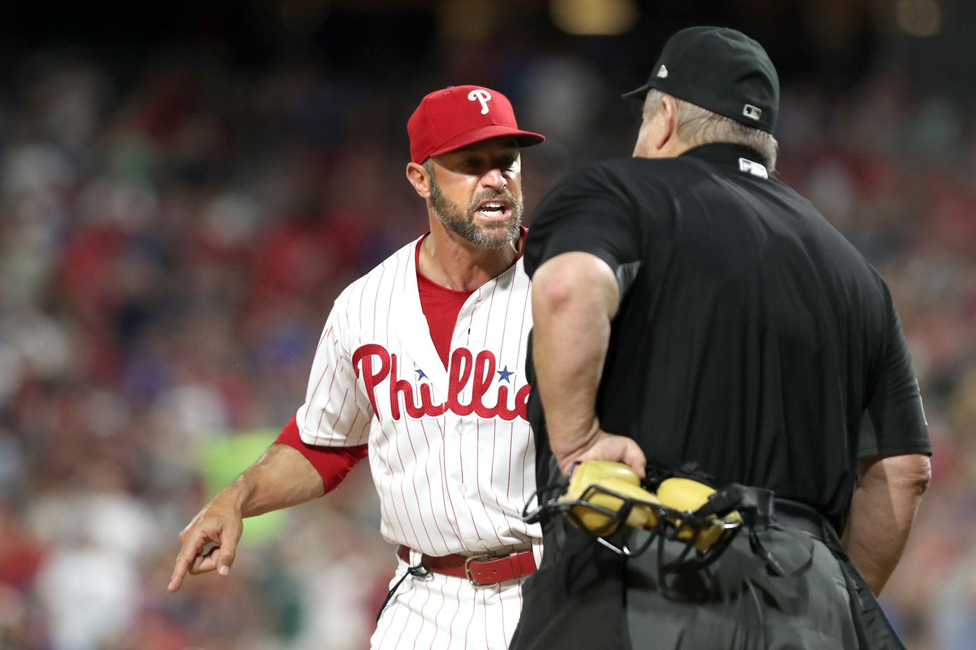 Phillies manager Gabe Kapler ejected for second time in four games