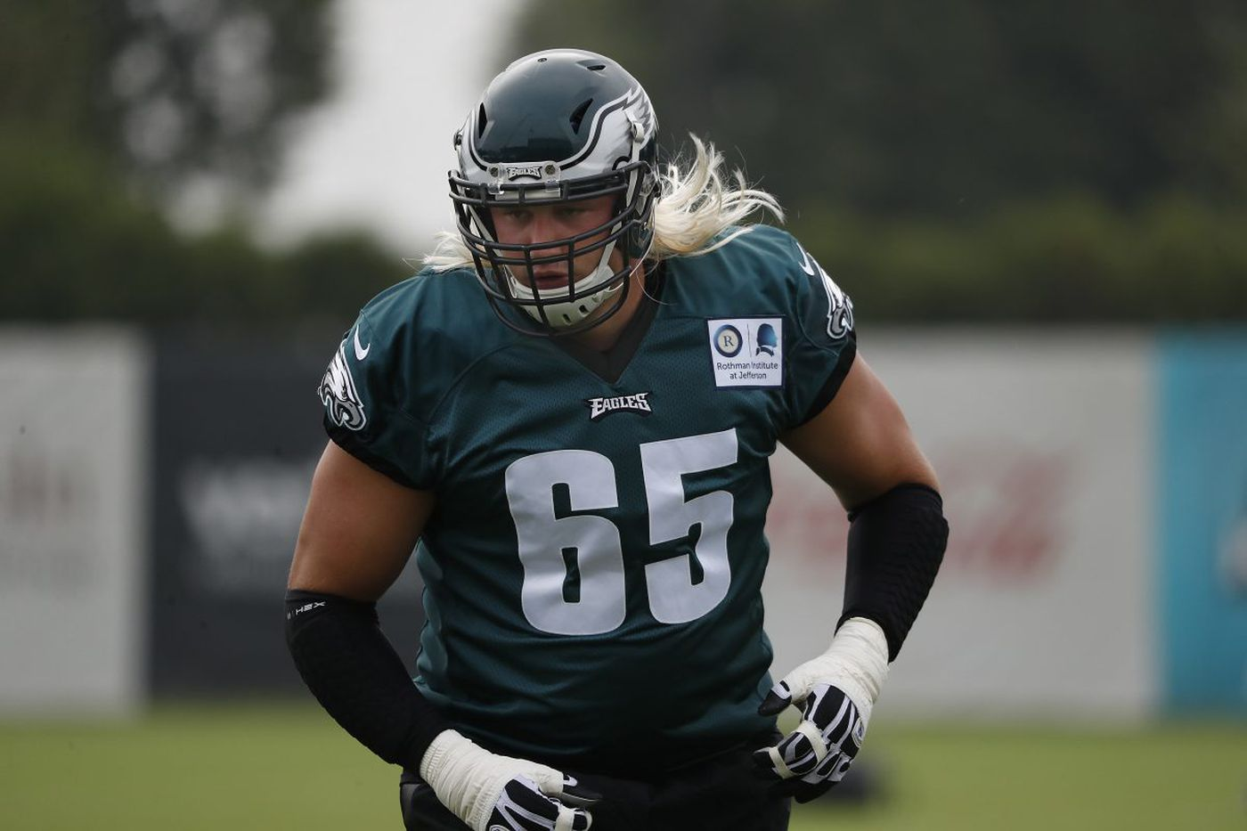 The best? Probably not, but Eagles offensive line could be very good