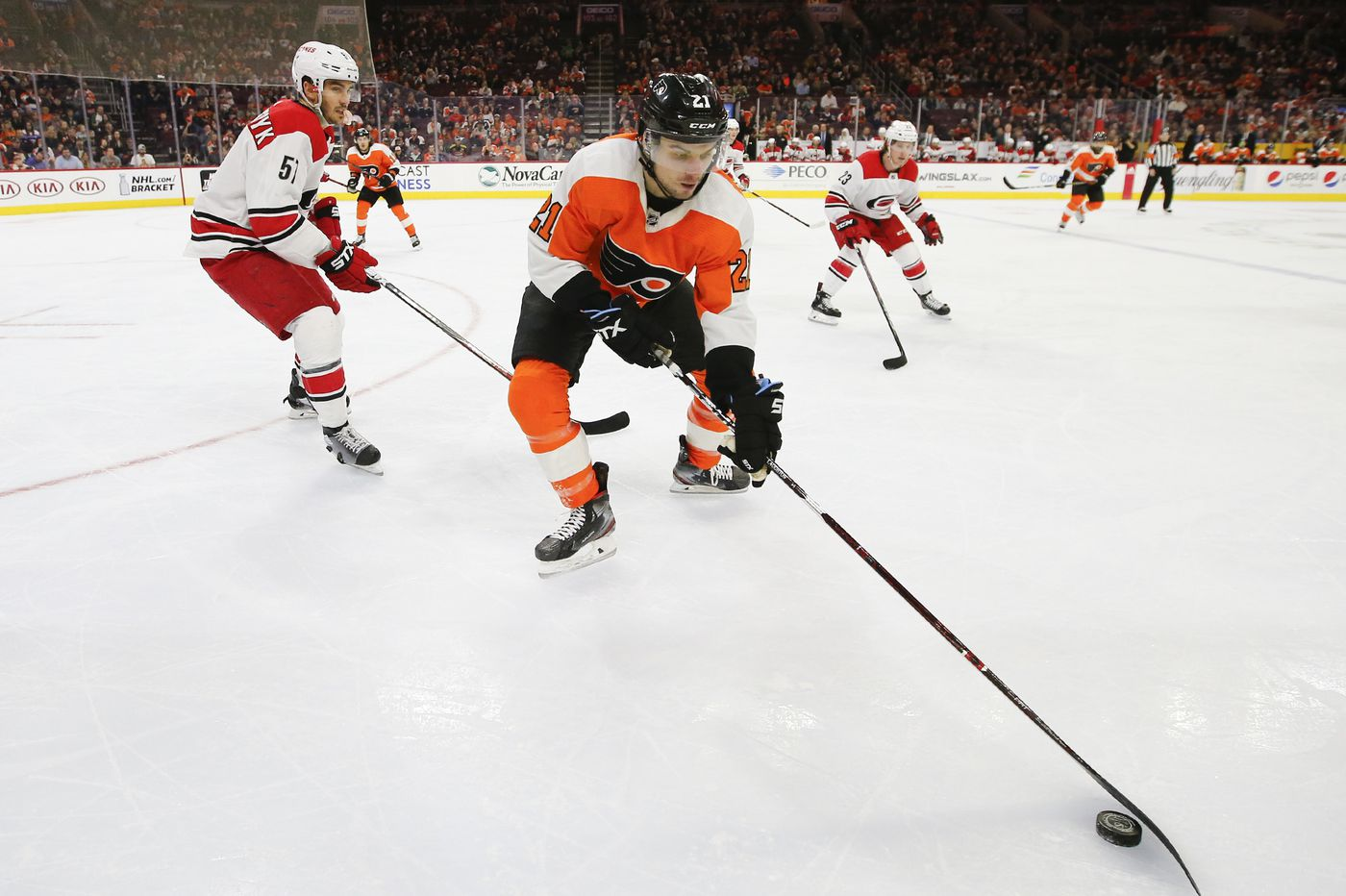 Flyers re-sign Scott Laughton to a two-year deal, avoid arbitration