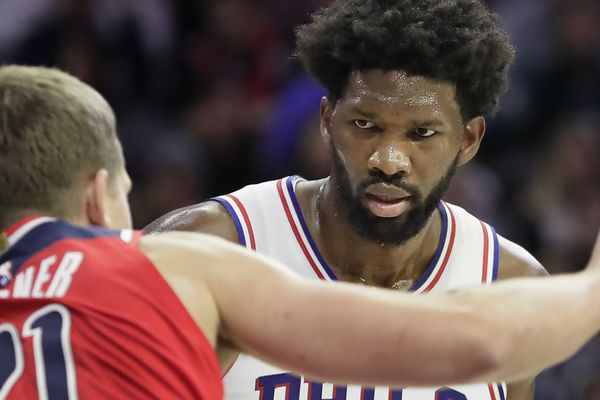 Joel Embiid wants the Sixers to win 60-plus games, which is fitting because it is up to him   David Murphy