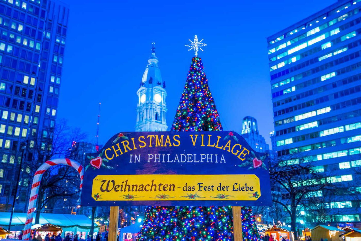 Christmas Village returning to LOVE Park