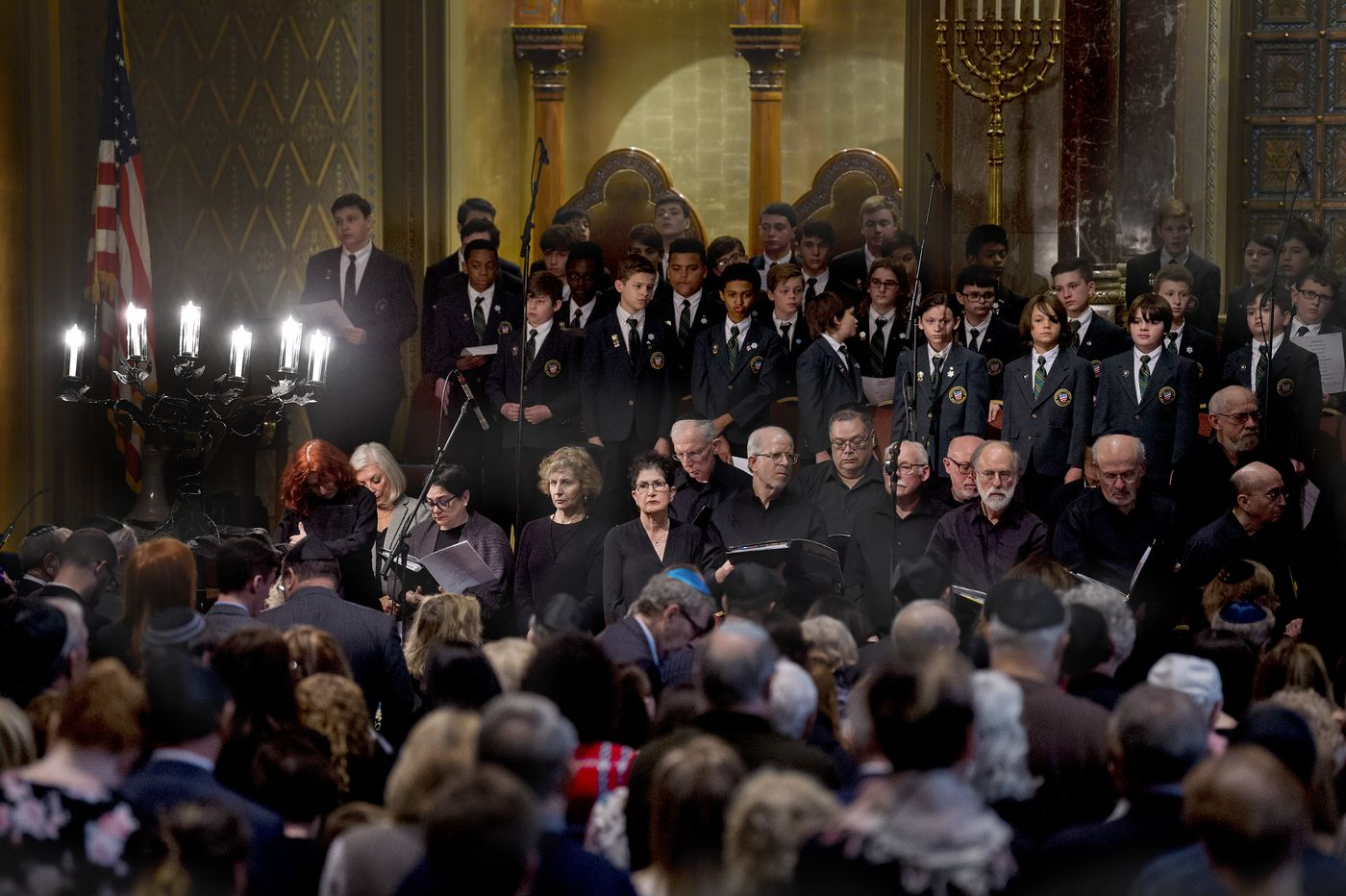 At Philadelphia's annual Holocaust remembrance, fresh heartache over California synagogue shooting