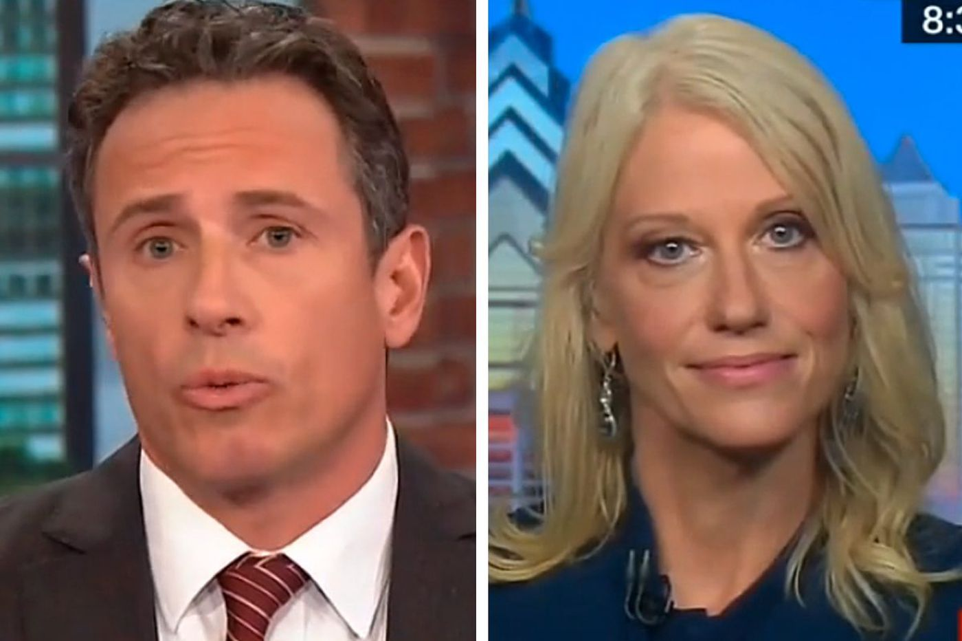 Kellyanne Conway went on CNN from Philly, and didn't want to leave