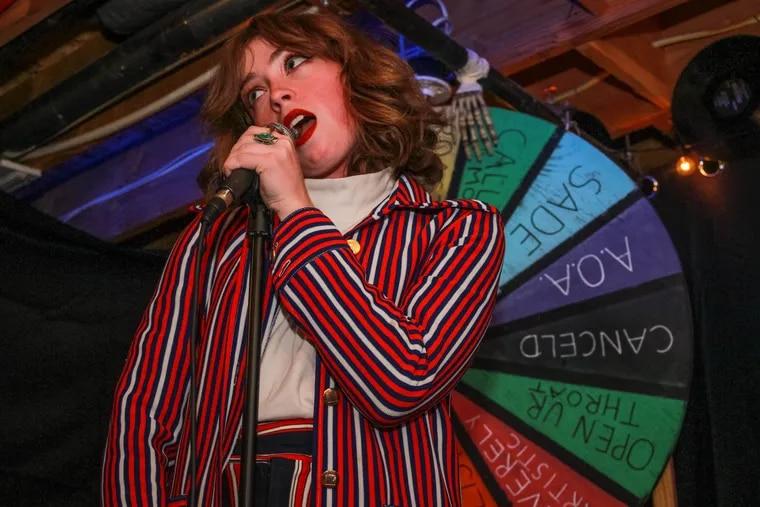 """Alaina Clune, co-host of """"Spin Da Freakin' Wheel"""""""