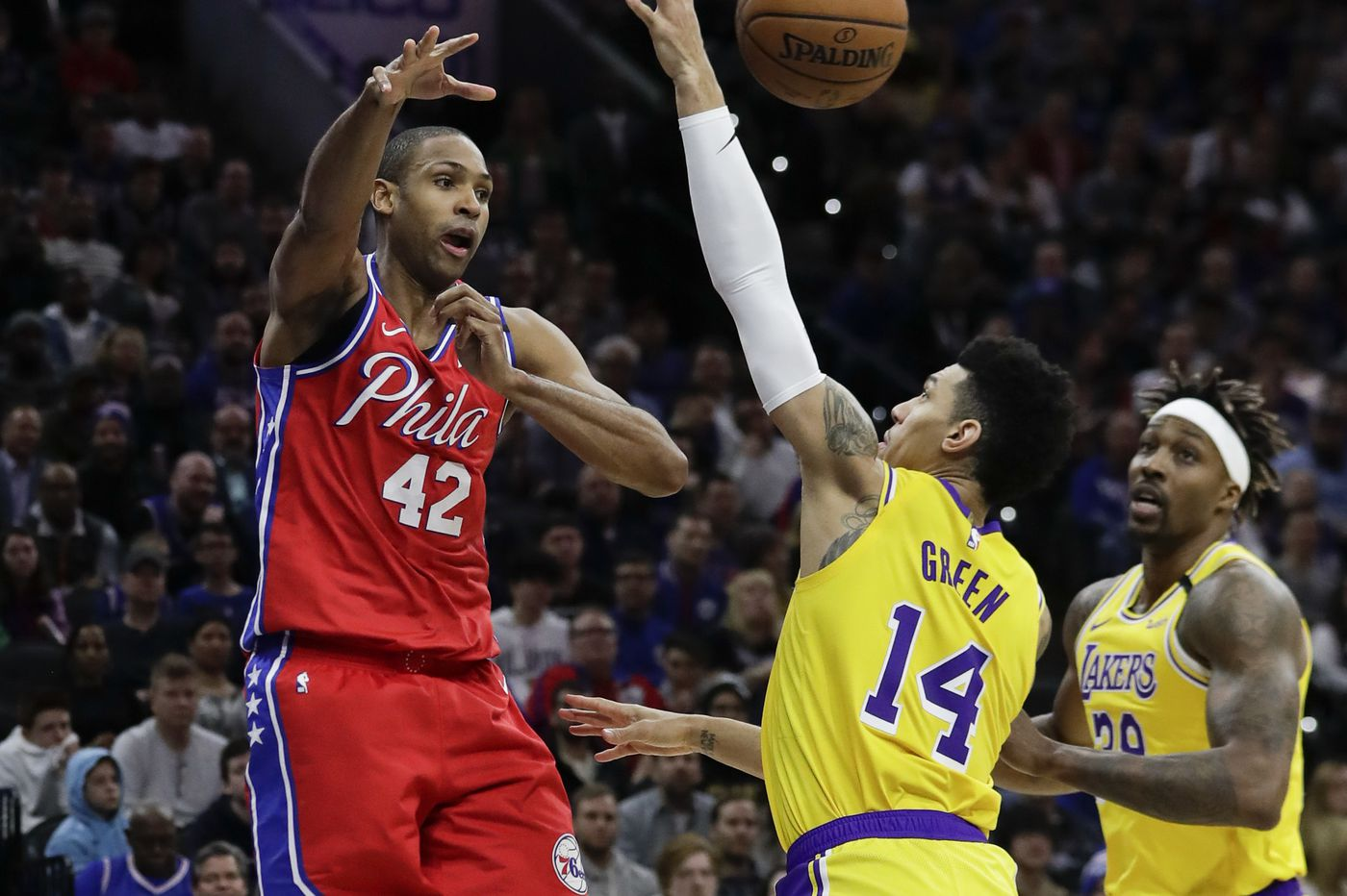 Sixers acquire sharpshooting Danny Green and Terrance Ferguson from OKC, dump Al Horford's salary