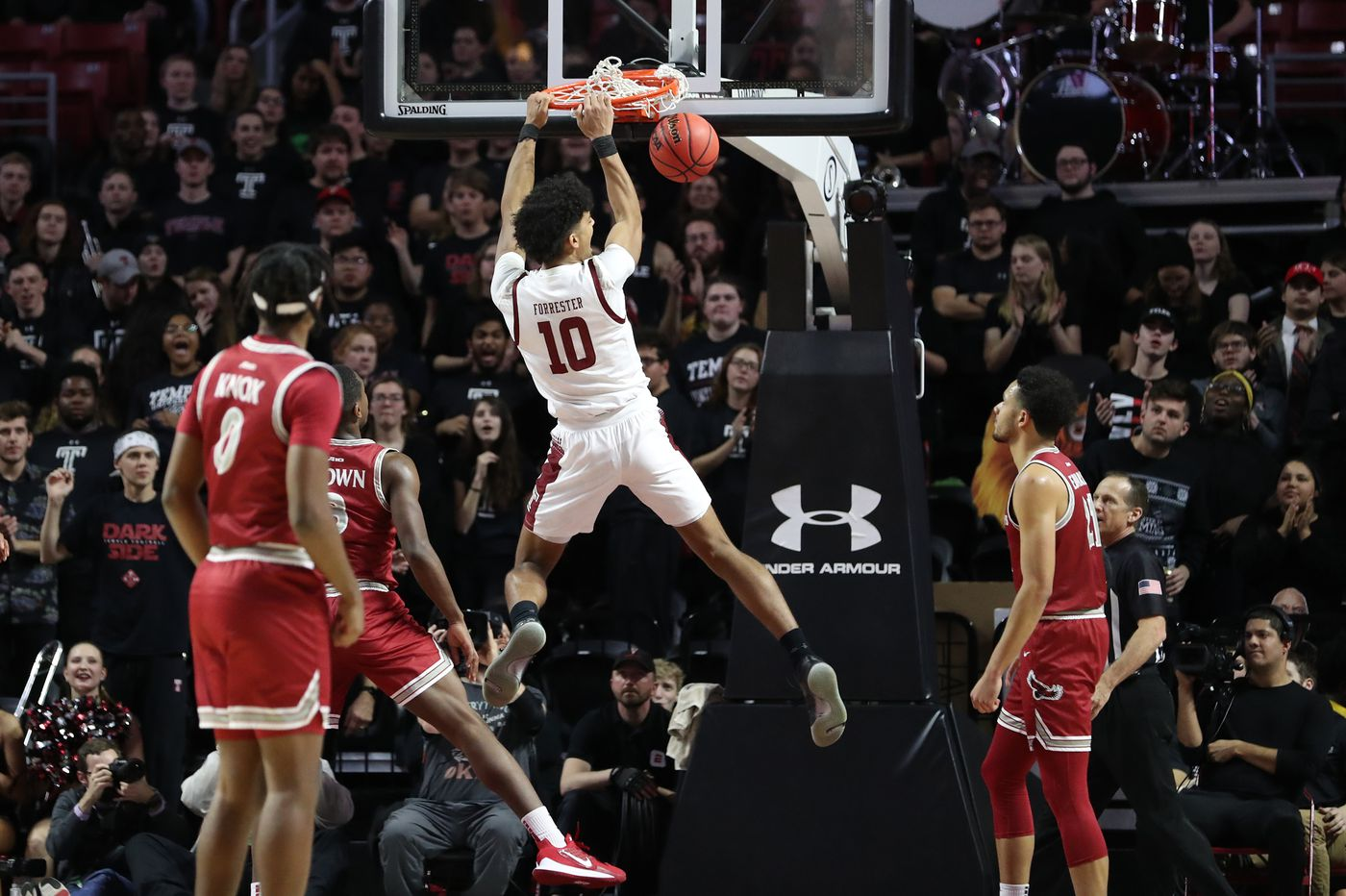Temple's Jake Forrester isn't smiling now ... and that's a good thing | Mike Jensen