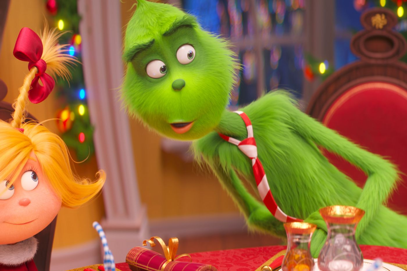 'Dr. Seuss' The Grinch' makes off with $66M at box office