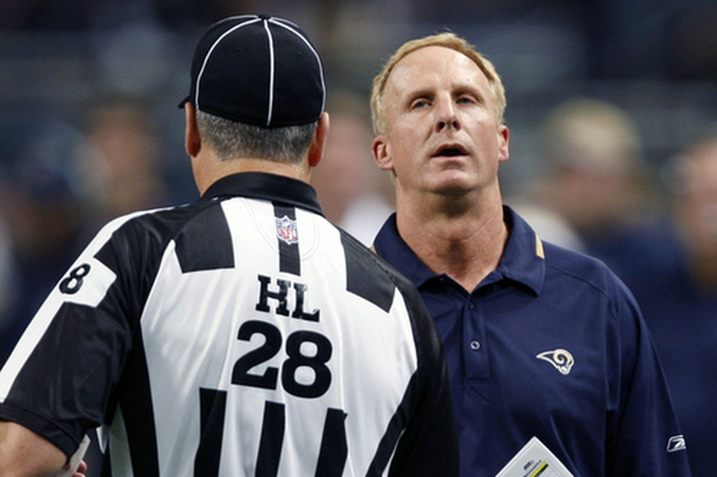 Holt says ref checked TV before making call