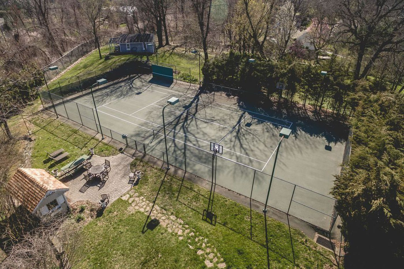 Game, set, match: Three Philly suburban estates with private tennis courts