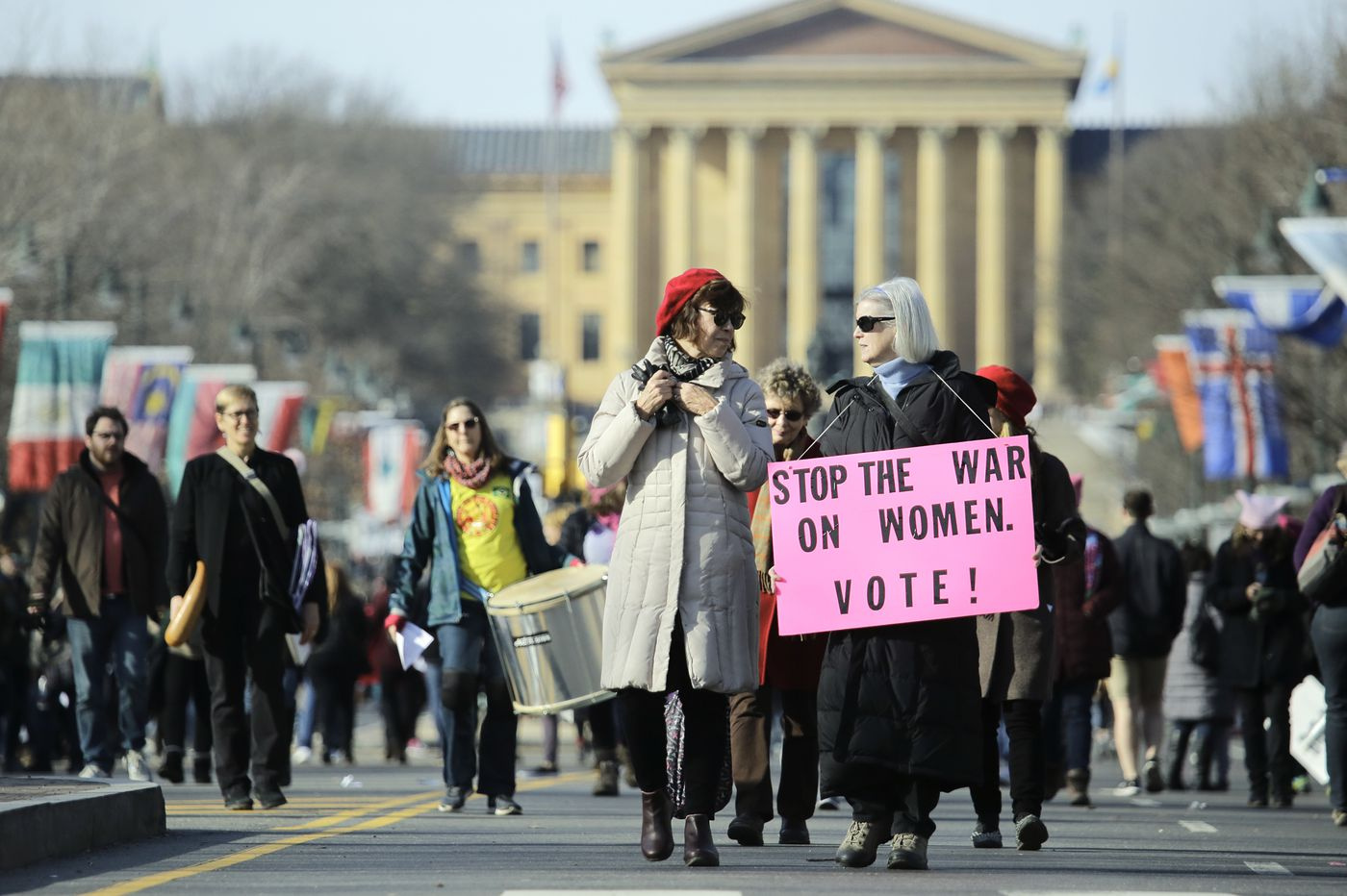 While national Women's March leaders are under fire, Philly group faces its own turmoil